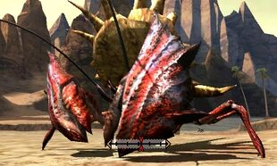 MH4U-Daimyo Hermitaur Right Claw Break 001