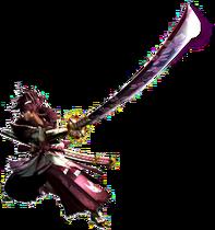 MHGen-Long Sword Equipment Render 001