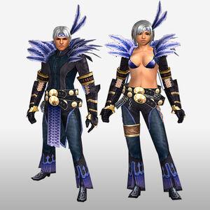 FrontierGen-Hypnoria Armor (Both) (Front) Render