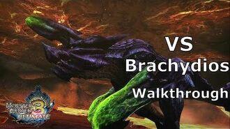 MH3U No deaths -Vs Brachydios D - (Walkthrough ProPlay)