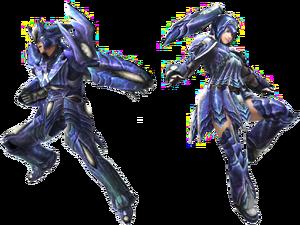FrontierGen-Brachydios Armor (Gunner) (Both) Render 2