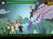 MH4-Dalamadur Felyne Minigame Screenshot