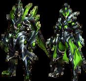 MHGU-Astalos Armor (Blademaster) Render