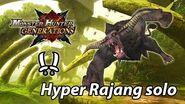 MHGen Hyper Rajang solo (Striker Dual Blades) - 8'35