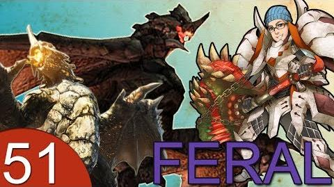 Monster Hunter 4 Nubcakes 51 - FERAL Gravios & Black Gravios English commentary online gameplay