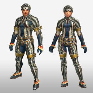 FrontierGen-Ganosu G Armor (Blademaster) (Front) Render