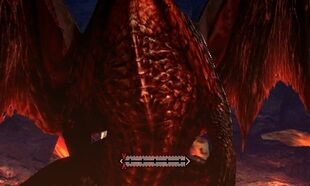 MH4U-Crimson Fatalis Chest Break 001
