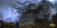 MHO-Dark Veil Forest Concept Art 008