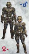 MH3U Nibelsnarf Armor (Blade)