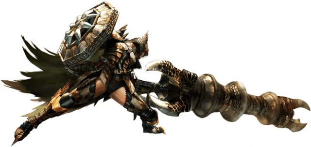 File:MH4U-Gunlance Equipment Render 001.png