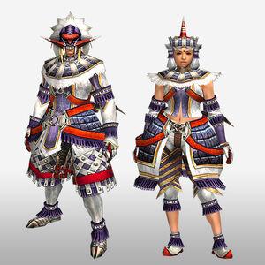 FrontierGen-Burango G Armor (Blademaster) (Front) Render