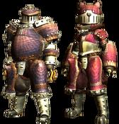 MHGU-Rhenoplos Armor (Blademaster) Render