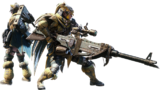 MHW-Heavy Bowgun Equipment Render 001