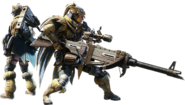 MHW-Heavy Bowgun Equipment Render 001