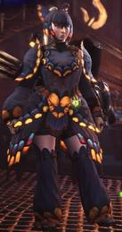 MHW-ButterflyAArmorSetF