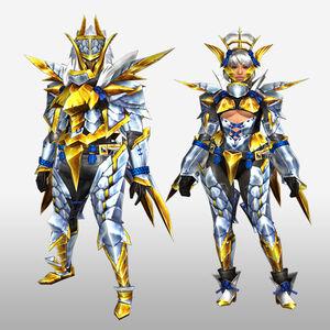 FrontierGen-Arugoru Armor (Blademaster) (Front) Render