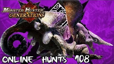 Monster Hunter Generations - Online Hunts 108 Chameleos Likes Steak