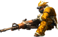 3rdGen-Medium Bowgun Equipment Render 001