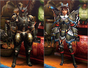 Aelucanth Blademaster Armor