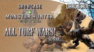 All Turf Wars! Monster Hunter World (No HUD)