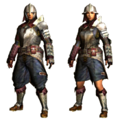 MHGU-Chainmail Armor (Both) Render