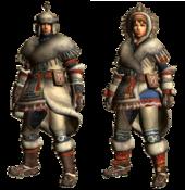 MHGU-Mafumofu Armor (Both) Render