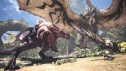 MHW-Anjanath and Azure Rathalos Screenshot 001