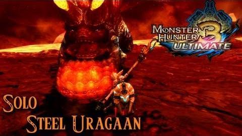 Monster Hunter 3 Ultimate - Steel Uragaan