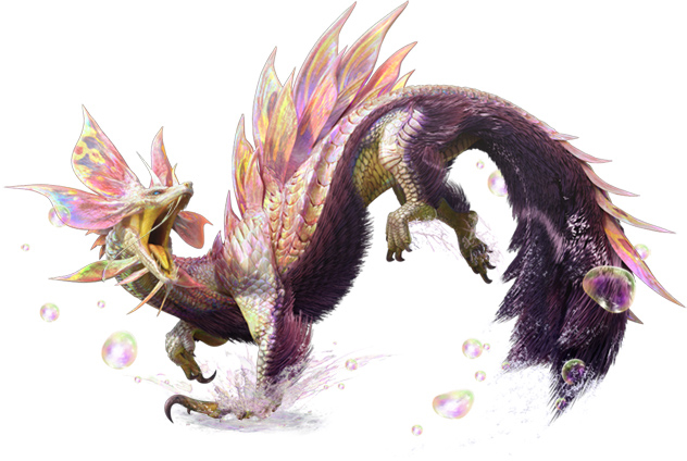 Mizutsune | Monster Hunter Wiki | Fandom