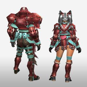 FrontierGen-Zazami G Armor (Blademaster) (Back) Render