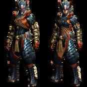 MHGU-Nargacuga Armor (Blademaster) Render
