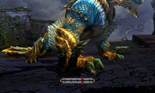 MH4U-Zinogre Left Claw Break 001