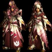 MHGU-Mizutsune Armor (Blademaster) Render