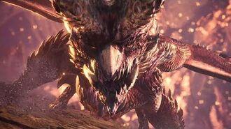 Monster Hunter World - Alatreon Boss Fight (Hammer) (4K)