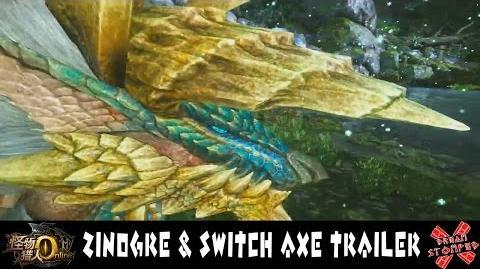 Monster Hunter Online - Zinogre and Switch Axe Trailer