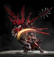 Chogokin-Monster Hunter G Class Henkei Rathalos 010
