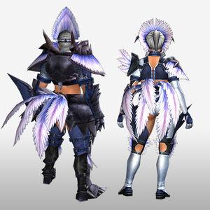 FrontierGen-Hypno S Armor (Gunner) (Back) Render