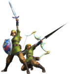 MH4-Sword and Shield and Bow Equipment Render 001