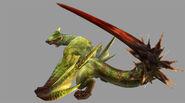 MHP3-Green Nargacuga Render 001