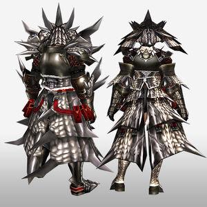 FrontierGen-Sol G Armor (Blademaster) (Back) Render