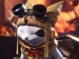 Felyne Leather Palico Armor (MHW)