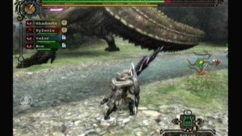 Monster Hunter Tri Online - Giant Deviljho