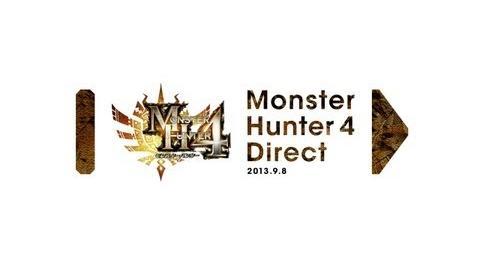 モンスターハンター4 Direct 2013.9