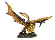 Capcom Figure Builder Creator's Model Gold Rathian 001