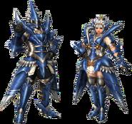 FrontierGen-Torupedo G Armor (Blademaster) Render 2