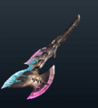 MH4U-Relic Switch Axe 007 Render 001