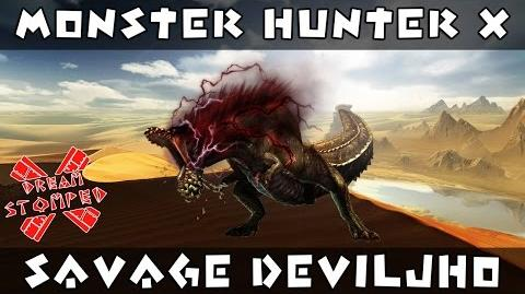 Monster Hunter X - Savage Deviljho Gameplay