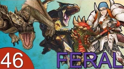 Monster Hunter 4 Nubcakes 46 - FERAL Tigrex & Black Tigrex Subspecies English commentary online