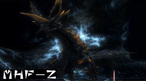 MHF-Z 黒穿竜 メラギナス