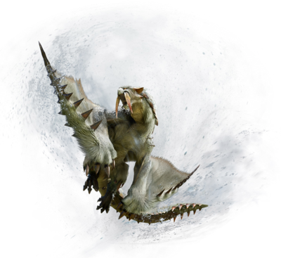 MHGU-Barioth Render 001